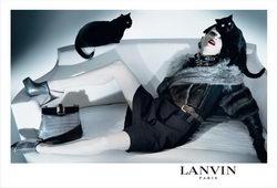 Lanvin Fall Winter Fashion Campaign