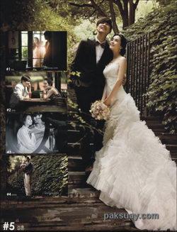 ลีดาเฮ มุมกล้องท่าโพส ถ่ายรูปแต่งงาน