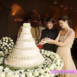 เค้กแต่งงานดาราคนดัง
