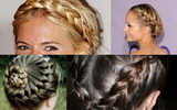    French side braids 