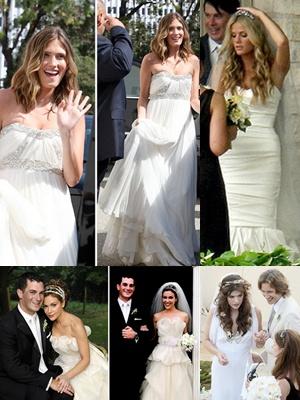 ชุดแต่งงานดาราคนดัง