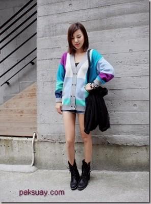 การเลือกคาดิแกน เสื้อกันหนาว สาว 2011 วิธีง่ายๆ