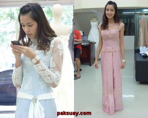 ชุดไทยแบบต่างๆ ดารา คุณเบนซ์ไม่แต่งหน้าไม่เมคอัพ สาว 2011 แฟั่นดารา BB อินเทนด์