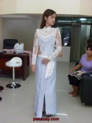 ชุดไทย 2011 แบบแขนยาว