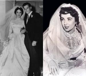 ชุดแต่งงาน ผู้หญิงที่สวยสุดๆ ในโลก เอลิซาเบธ เทย์เลอร์