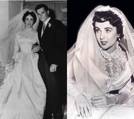 รูปงานแต่งงาน ครั้งแรก กับ Michael Wilding