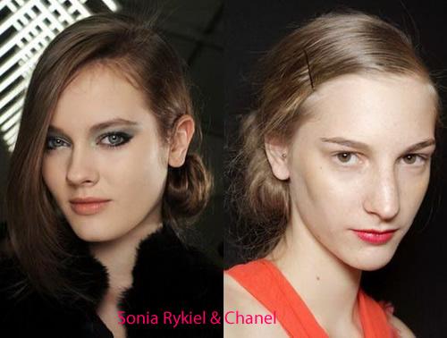 แบบเกล้าผมมวย 2012 แบบต่างๆ เทรนด์ใหม่ 2555 ทรงผม คุณนางแบบ