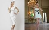 dress เรียบๆ งานเลี้ยง 2012