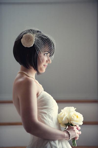 แบบผมสั้น เจ้าสาว ชุดแต่งงาน 2013