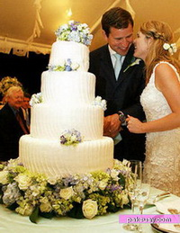 เค้กแต่งงานดาราคนดัง เค็กก้อนไหน รูปแบบเป็นไง