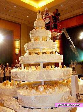 เค้กแต่งงาน ที่ใหญ่ที่สุดในโลก