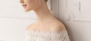 ชุดแต่งงานเสปน ติดแหง็ก เจ้าสาวผมสั้น หรูเรียบๆ 2012 Alma Novia