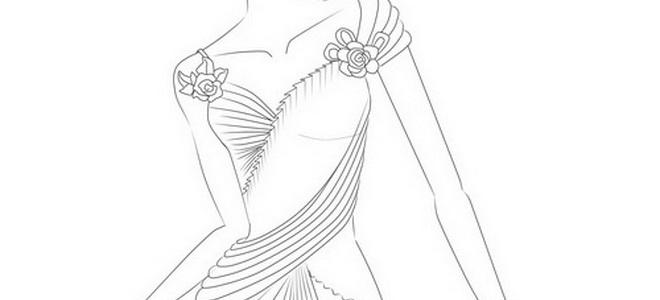 สเก็ตช์ sketch ชุดแต่งงานไทย