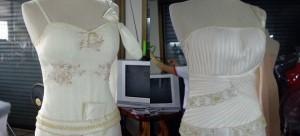 แบบชุดไทยประยุกต์ เจ้าสาว แต่งงาน แบบไทยๆ เดิมๆ