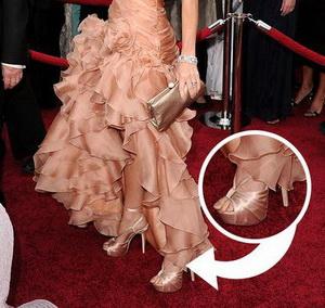 รองเท้าดารา บนพรมแดง