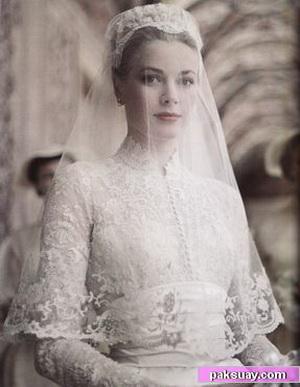 ชุดแต่งงาน Grace Kelly