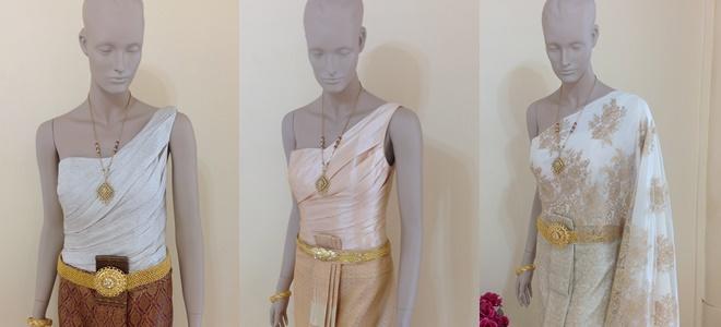 ชุดไทยแบบแอฟ ชุดไทยเจ้าสาว ที่ตัวเสื้อยังคง ท๊อปฮิต นิยมมากในปี 2013