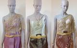 แบบชุดไทยประยุกต์ ชุดไทยแต่งงาน เย็บใหม่ ตัดใหม่ๆ ให้เช่า