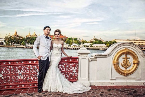 รูปชุดแต่งงาน ชุดไทย คุณสาวิตรี คุณจิรัฏฐ์