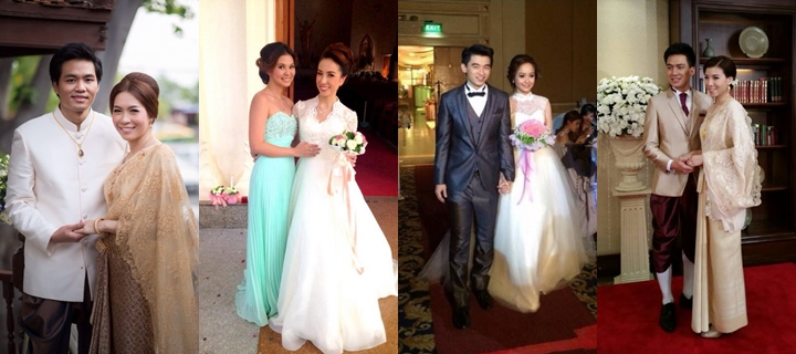รูปชุดแต่งงาน ชุดไทย คุณลูกค้า รานลีลาโรส