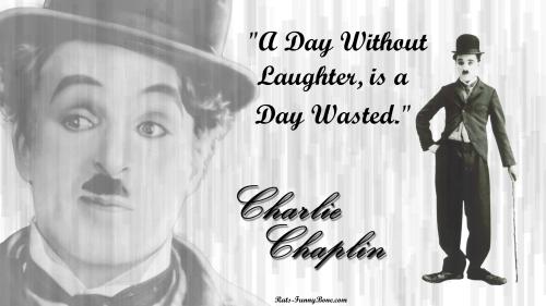 หัวเราะ คือ ความหมาย ของ ชาร์ลี แชปลิน
