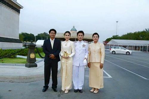 ชุดไทยแขนยาว ไทยบรมพิมาน