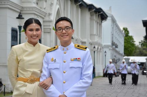 ชุดไทยบรมพิมาน thai boromphiman