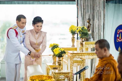 ชุดไทยบรมพิมาน สีชมพู chut thai boromphiman