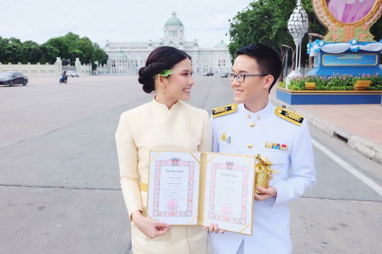 ชุดไทยพระราชนิยม ชุดไทยแต่งงาน