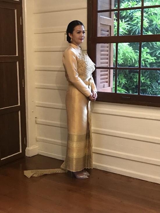ชุดไทยพระราชนิยม ชุดไทยแต่งงาน ร้านลีลาโรส